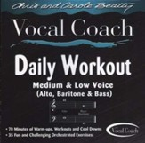 Daily Workout (Medium & Low Voice) CD
