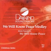 We Will Know Peace Medley, Accompaniment CD