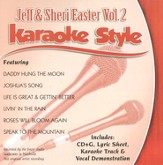 Jeff & Sheri Easter, Volume 2, Karaoke Style CD