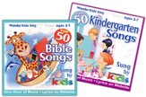 Top 50 Bible Songs + Top 50 Kindergarten Songs