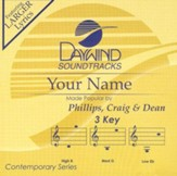 Your Name, Accompaniment CD