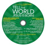 Tell The World, Jesus Is Born! Split-Track   Acc CD