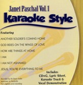 Janet Paschal Volume 1, Karaoke Style CD