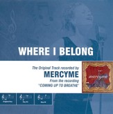 Where I Belong, Accompaniment CD