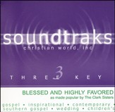 Blessed And Highly Favored, Accompaniment CD