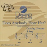 Does Anybody Hear Her, Accompaniment CD