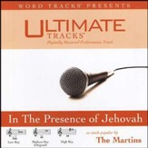 In The Presence Of Jehovah - Low key performance track w/ background vocals [Music Download]