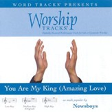 You Are My King [Amazing Love] - Low key performance track w/ background vocals [Music Download]