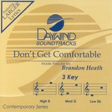 Don't Get Comfortable, Accompaniment CD
