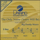 The Only Name (Yours Will Be) Acc, CD