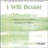 I Will Boast (CD Octavo Track)
