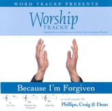 Because I'm Forgiven - Medium key performance track w/ background vocals [Music Download]