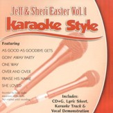 Jeff & Sheri Easter, Volume 1, Karaoke Style CD