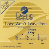 Love Won't Leave You, Accompaniment CD