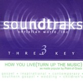 How You Live (Turn Up The Music), Accompaniment CD