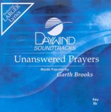 Unanswered Prayers, Accompaniment CD