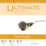 Not Guilty - Low Key Performance Track w/ Background Vocals [Music Download]