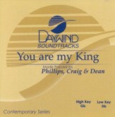You Are My King, Accompaniment CD