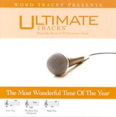 It's The Most Wonderful Time Of The Year - Medium key performance track w/ background vocals [Music Download]