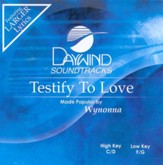 Testify To Love, Accompaniment CD