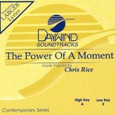 The Power Of A Moment, Accompaniment CD