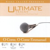 O Come, O Come Emmanuel - Low key performance track w/ background vocals [Music Download]