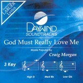 God Must Really Love Me, Accompaniment CD