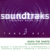 When The Saints, Accompaniment CD