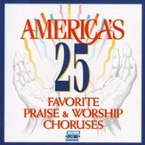 America's 25 Favorite Praise & Worship, Volume 1, Split-Trax CD