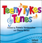Teeny Tykes & Tunes-Infant Vol. 1, Stereo CD