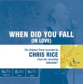 When Did You Fall (In Love), Accompaniment CD