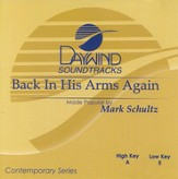 Back in His Arms Again, Accompaniment CD
