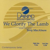 We Glorify The Lamb, Accompaniment CD