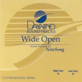 Wide Open, Accompaniment CD