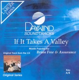 If It Takes A Valley, Accompaniment CD