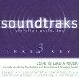 Love Is Like A River, Accompaniment CD