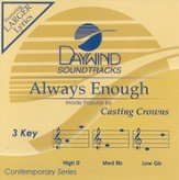 Always Enough, Accompaniment CD