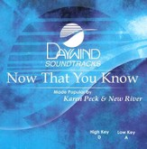 Now That You Know, Accompaniment CD