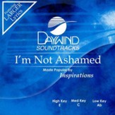 I'm Not Ashamed, Accompaniment CD