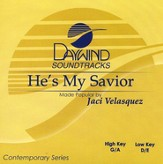 He's My Savior, Accompaniment CD