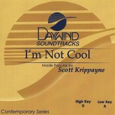 I'm Not Cool, Accompaniment CD