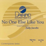 No One Else Like You, Accompaniment CD