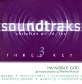 Invincible God, Accompaniment CD