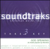 God Speaking, Accompaniment CD