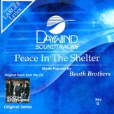 Peace In The Shelter, Accompaniment CD