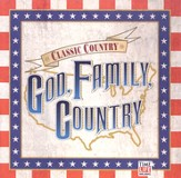 God, Family, Country CD