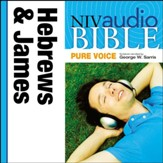 NIV Audio Bible, Pure Voice: Hebrews and James, Narrated by George W. Sarris - Special edition Audiobook [Download]