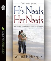 His Needs, Her Needs: Building an Affair-Proof Marriage - Unabridged Audiobook [Download]