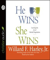 He Wins, She Wins: Learning the Art of Marital Negotiation - Unabridged Audiobook [Download]