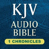 KJV Audio Bible: 1 Chronicles (Voice Only) [Download]